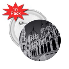 Architecture Parliament Landmark 2 25  Buttons (10 Pack)  by BangZart