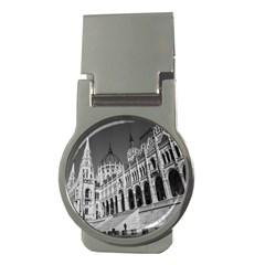 Architecture Parliament Landmark Money Clips (round)