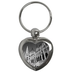 Architecture Parliament Landmark Key Chains (heart)  by BangZart