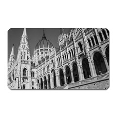 Architecture Parliament Landmark Magnet (rectangular) by BangZart