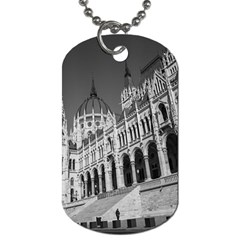 Architecture Parliament Landmark Dog Tag (one Side)