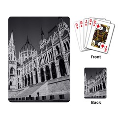 Architecture Parliament Landmark Playing Card