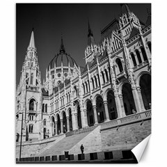 Architecture Parliament Landmark Canvas 8  X 10