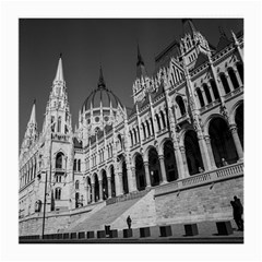 Architecture Parliament Landmark Medium Glasses Cloth by BangZart