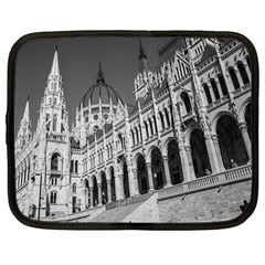 Architecture Parliament Landmark Netbook Case (large) by BangZart