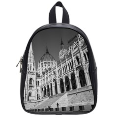 Architecture Parliament Landmark School Bag (small) by BangZart
