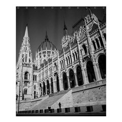 Architecture Parliament Landmark Shower Curtain 60  X 72  (medium)  by BangZart