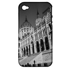 Architecture Parliament Landmark Apple Iphone 4/4s Hardshell Case (pc+silicone)