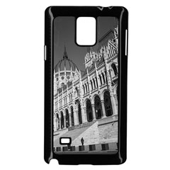 Architecture Parliament Landmark Samsung Galaxy Note 4 Case (black) by BangZart