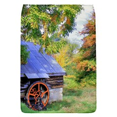 Landscape Blue Shed Scenery Wood Flap Covers (s)  by BangZart