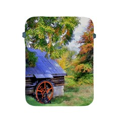 Landscape Blue Shed Scenery Wood Apple Ipad 2/3/4 Protective Soft Cases