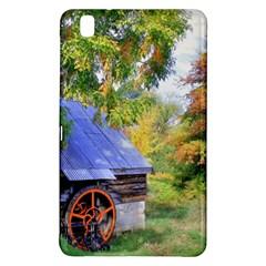 Landscape Blue Shed Scenery Wood Samsung Galaxy Tab Pro 8 4 Hardshell Case