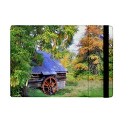 Landscape Blue Shed Scenery Wood Ipad Mini 2 Flip Cases