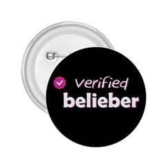 Verified Belieber 2 25  Buttons by Valentinaart