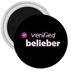 Verified Belieber 3  Magnets by Valentinaart