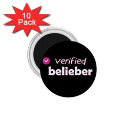 Verified Belieber 1 75  Magnets (10 Pack)  by Valentinaart