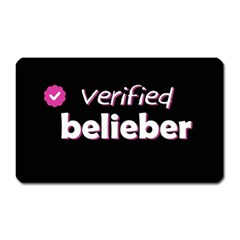 Verified Belieber Magnet (rectangular) by Valentinaart