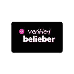 Verified Belieber Magnet (name Card) by Valentinaart
