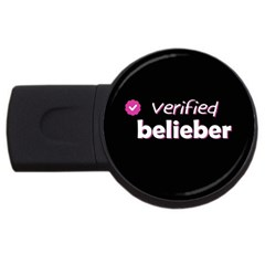 Verified Belieber Usb Flash Drive Round (2 Gb) by Valentinaart