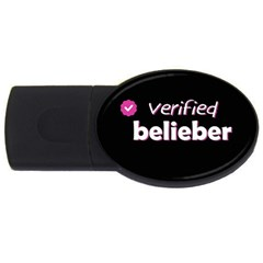 Verified Belieber Usb Flash Drive Oval (2 Gb) by Valentinaart