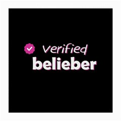 Verified Belieber Medium Glasses Cloth