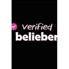 Verified Belieber 5 5  X 8 5  Notebooks by Valentinaart