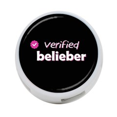 Verified Belieber 4 Port Usb Hub (one Side) by Valentinaart
