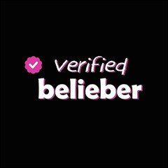 Verified Belieber Magic Photo Cubes by Valentinaart