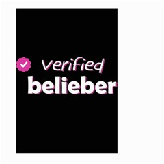Verified Belieber Large Garden Flag (two Sides) by Valentinaart