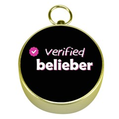 Verified Belieber Gold Compasses by Valentinaart