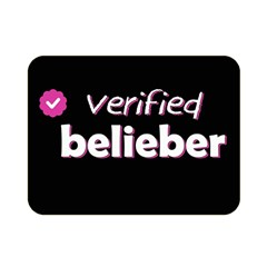 Verified Belieber Double Sided Flano Blanket (mini)  by Valentinaart