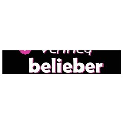 Verified Belieber Small Flano Scarf by Valentinaart