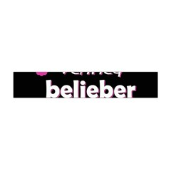 Verified Belieber Flano Scarf (mini) by Valentinaart