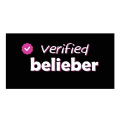 Verified Belieber Satin Shawl by Valentinaart