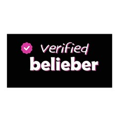 Verified Belieber Satin Wrap by Valentinaart