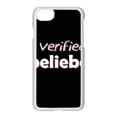 Verified Belieber Apple Iphone 7 Seamless Case (white) by Valentinaart