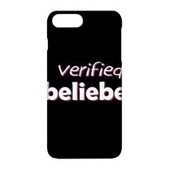 Verified Belieber Apple Iphone 8 Plus Hardshell Case by Valentinaart