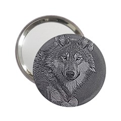 Wolf Forest Animals 2 25  Handbag Mirrors