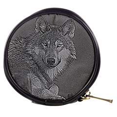 Wolf Forest Animals Mini Makeup Bags