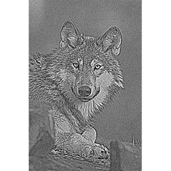 Wolf Forest Animals 5 5  X 8 5  Notebooks by BangZart