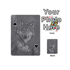 Wolf Forest Animals Playing Cards 54 (mini)