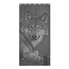 Wolf Forest Animals Shower Curtain 36  X 72  (stall)  by BangZart