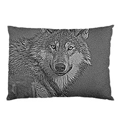 Wolf Forest Animals Pillow Case (two Sides)