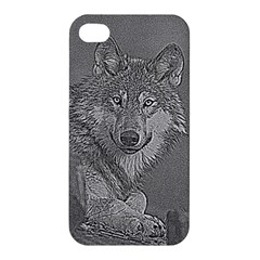 Wolf Forest Animals Apple Iphone 4/4s Hardshell Case