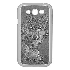 Wolf Forest Animals Samsung Galaxy Grand Duos I9082 Case (white)