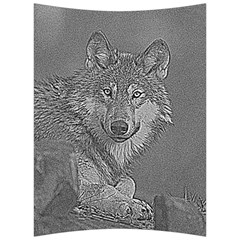 Wolf Forest Animals Back Support Cushion