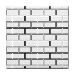 Wall Pattern Rectangle Brick Tile Coasters