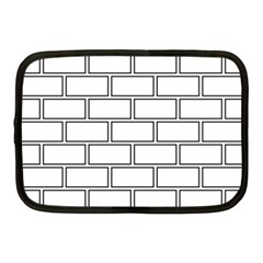 Wall Pattern Rectangle Brick Netbook Case (medium)