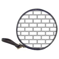 Wall Pattern Rectangle Brick Classic 20 Cd Wallets
