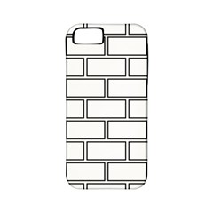 Wall Pattern Rectangle Brick Apple Iphone 5 Classic Hardshell Case (pc+silicone)